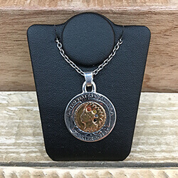 N-515 Penny in 25¢ 4colors Pendant