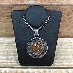 N-515 Penny in 25¢ 4colors Pendant